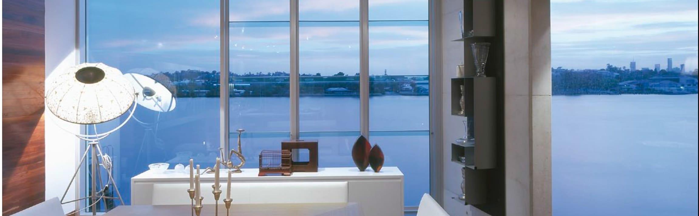 Decorated Aluminium Windows