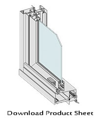 Double Hung Windows SERIES 453 AND 463 COMMERCIAL product sheet